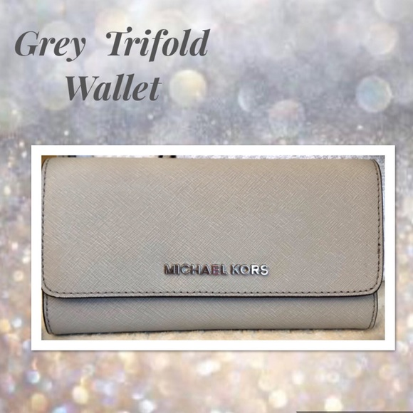 Michael Kors Handbags - Michael KORS Wallet Trifold in Cement Hard to Find